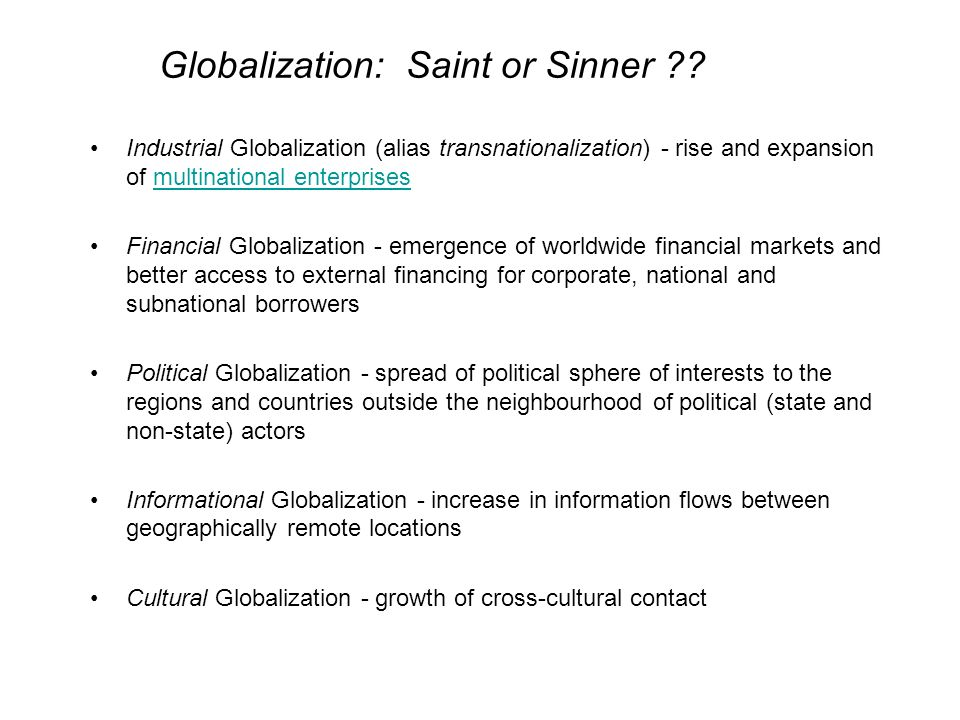 globalization and multinational enterprises Analysis of globalisation, with a focus on economic geography, arising from   multinational enterprises (mnes) on the world economy can be.