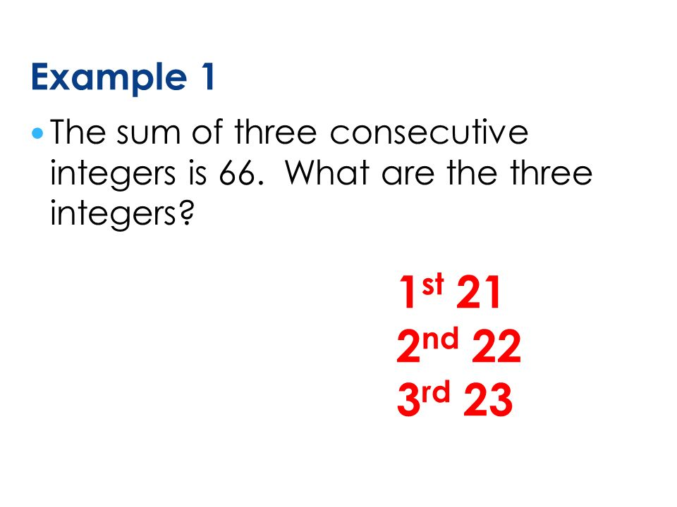 Consecutive Number Problems ppt video online download – Consecutive Integers Word Problems Worksheet