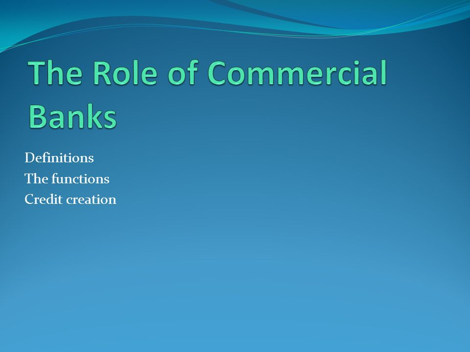 Good Lending Principles and Techniques for Commercial Banks