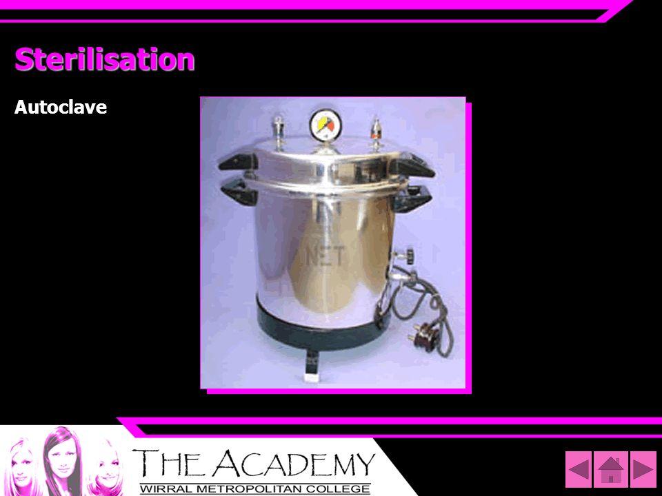 Sterilisation Autoclave