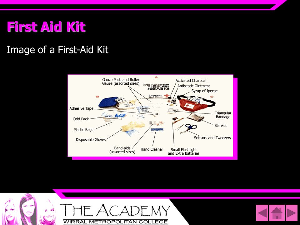 First Aid Kit Image of a First-Aid Kit