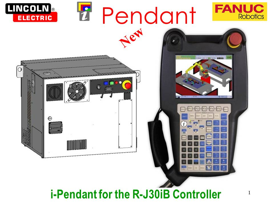 i-Pendant for the R-J30iB Controller