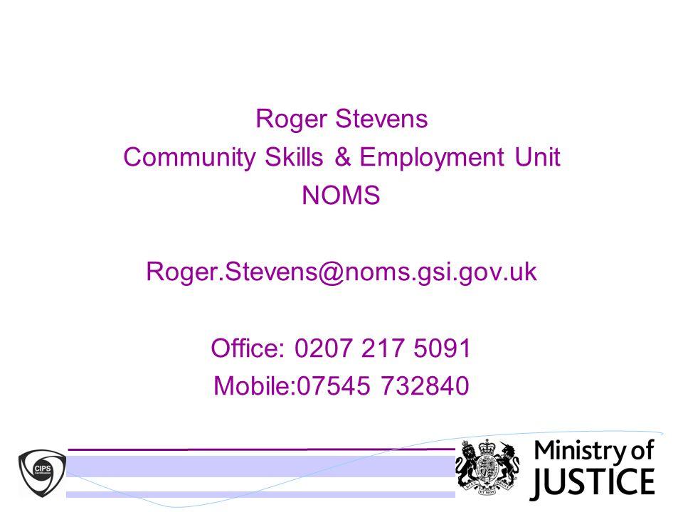 Community Skills & Employment Unit