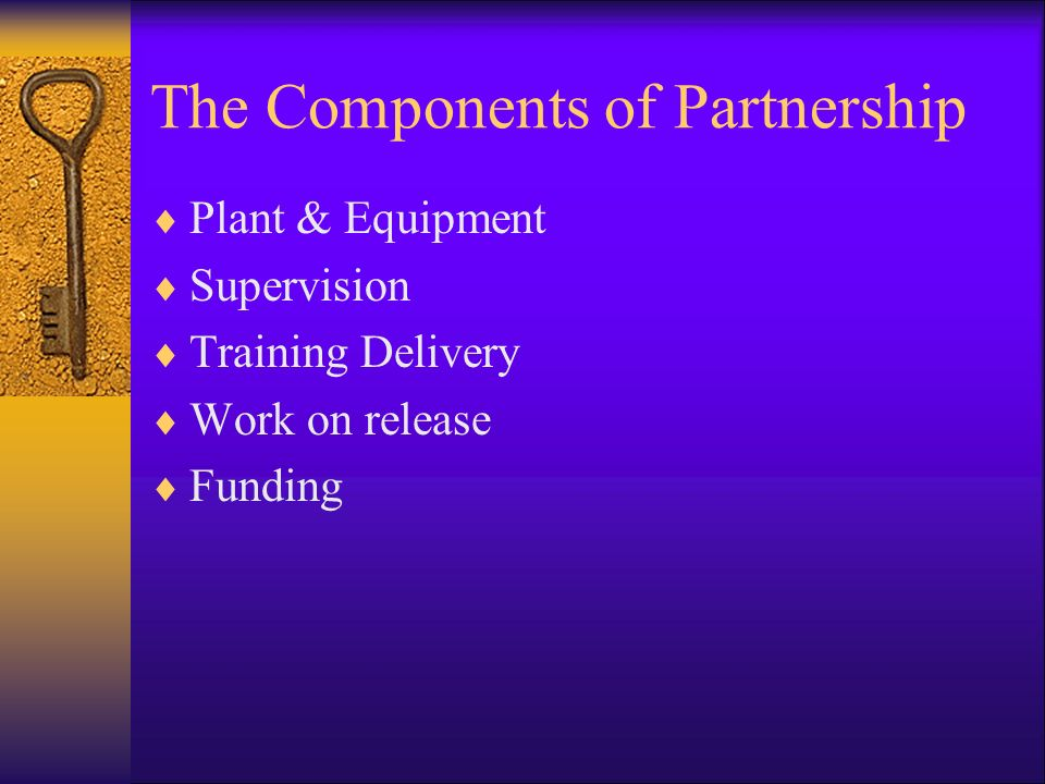 The Components of Partnership