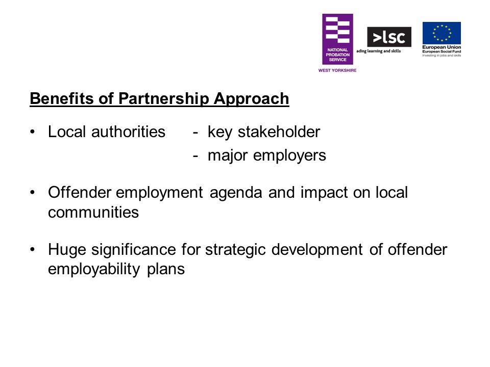 Benefits of Partnership Approach