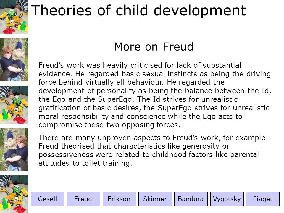 More on Freud