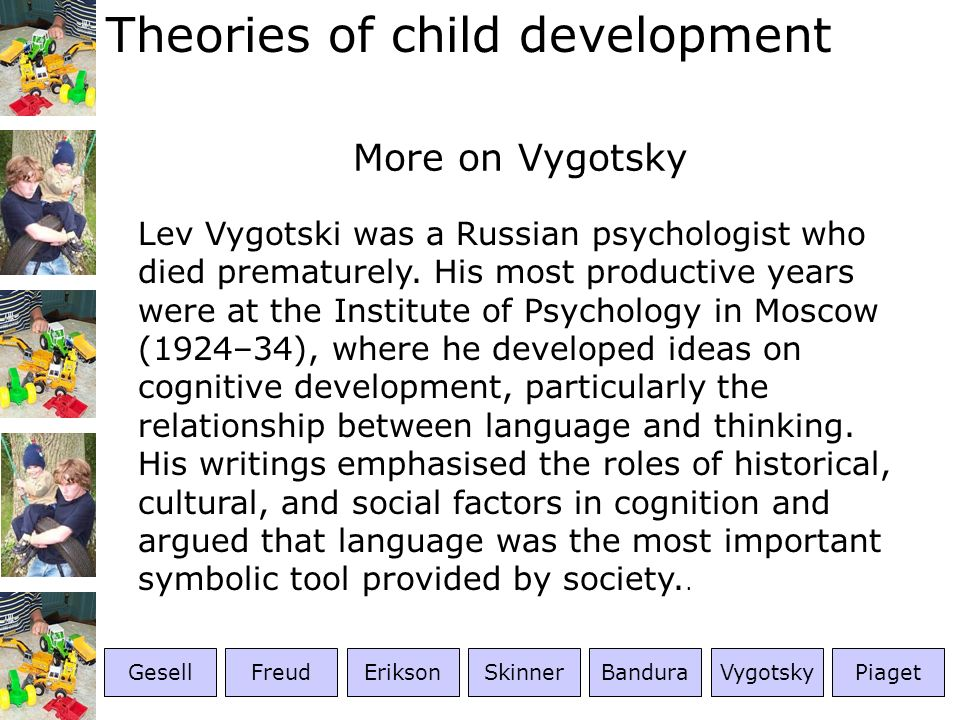 More on Vygotsky