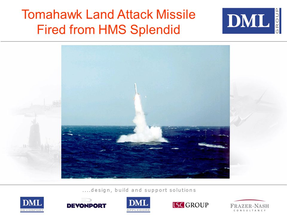 Tomahawk Land Attack Missile Fired from HMS Splendid