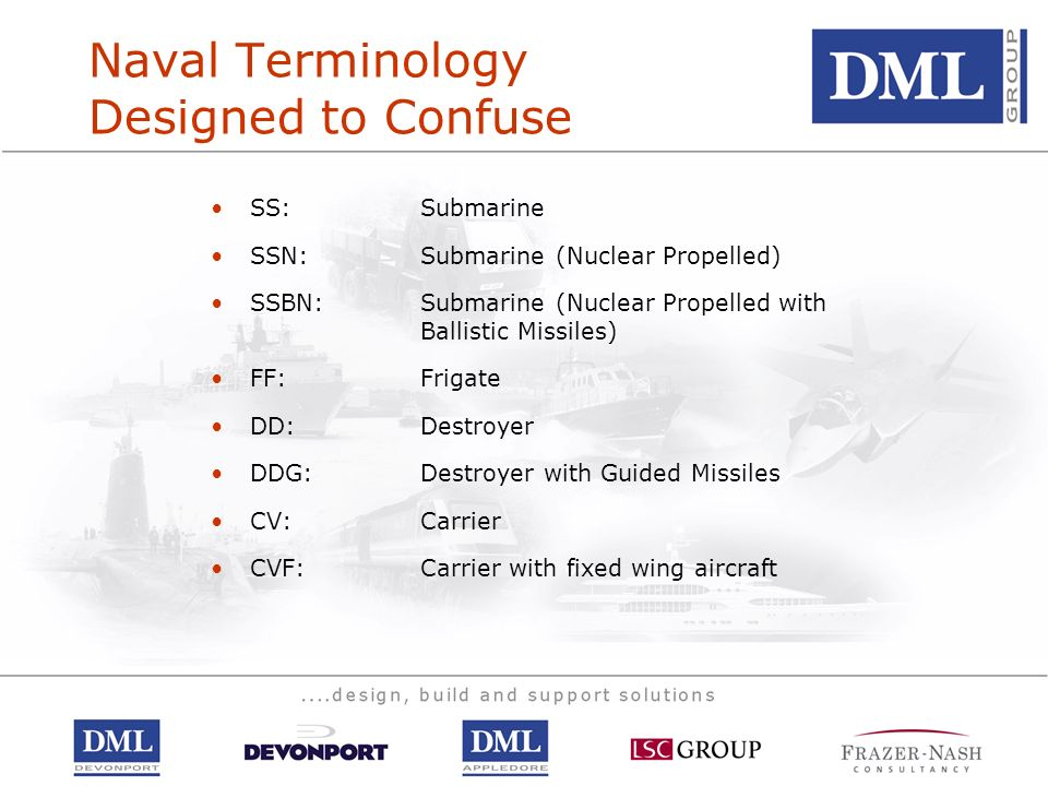 Naval Terminology Designed to Confuse