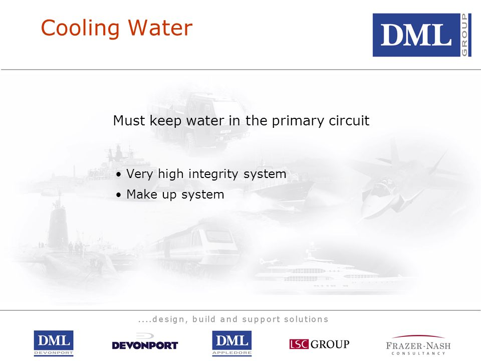 Must keep water in the primary circuit