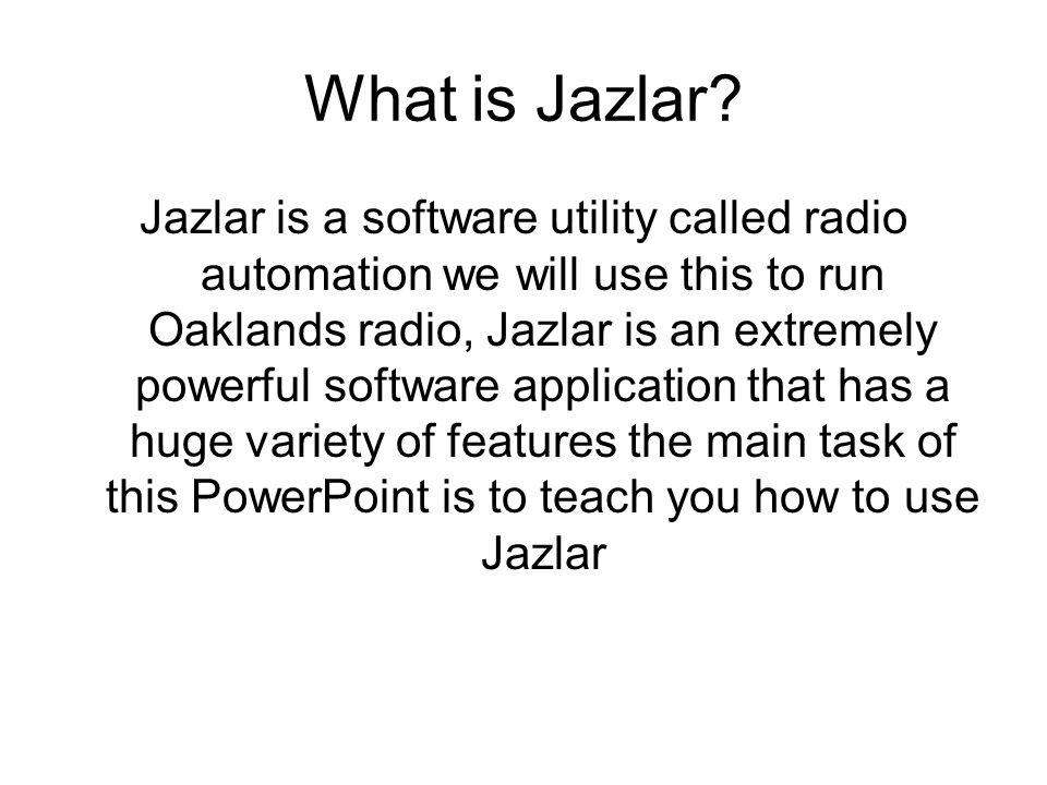 What is Jazlar