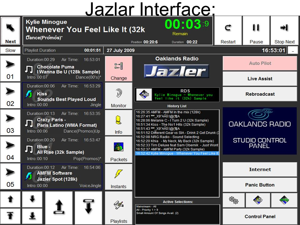 Jazlar Interface: