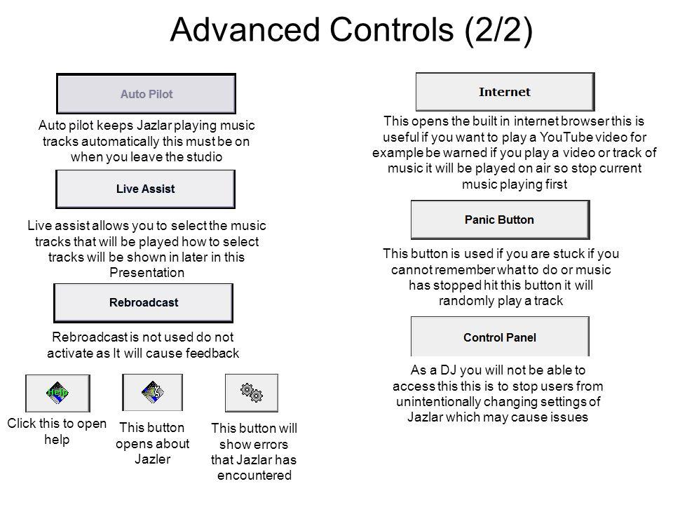 Advanced Controls (2/2)