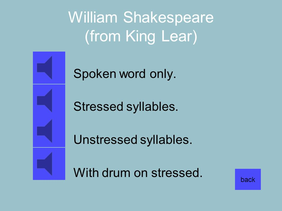 William Shakespeare (from King Lear)