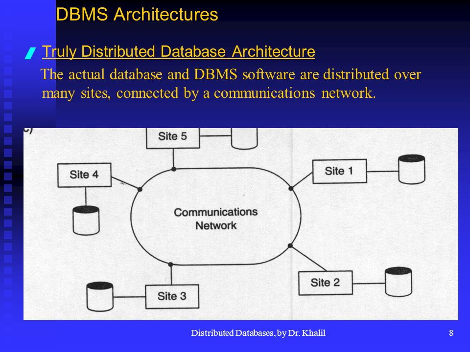 8 Distributed Databases ...