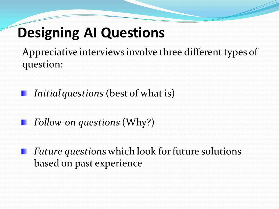 Designing AI Questions