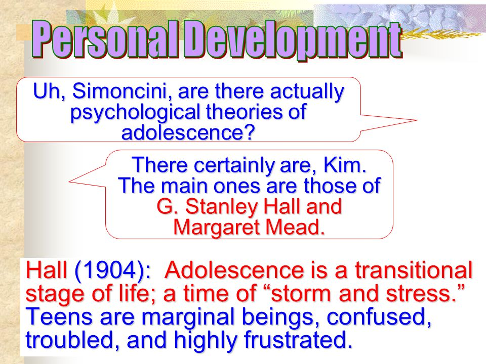 """storm and stress adolescence The view that """"storm and stress"""" are characteristic of adolescence has a long  history in western thought, but it gained prominence with the."""