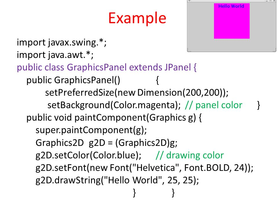 how to get color of jpanel java