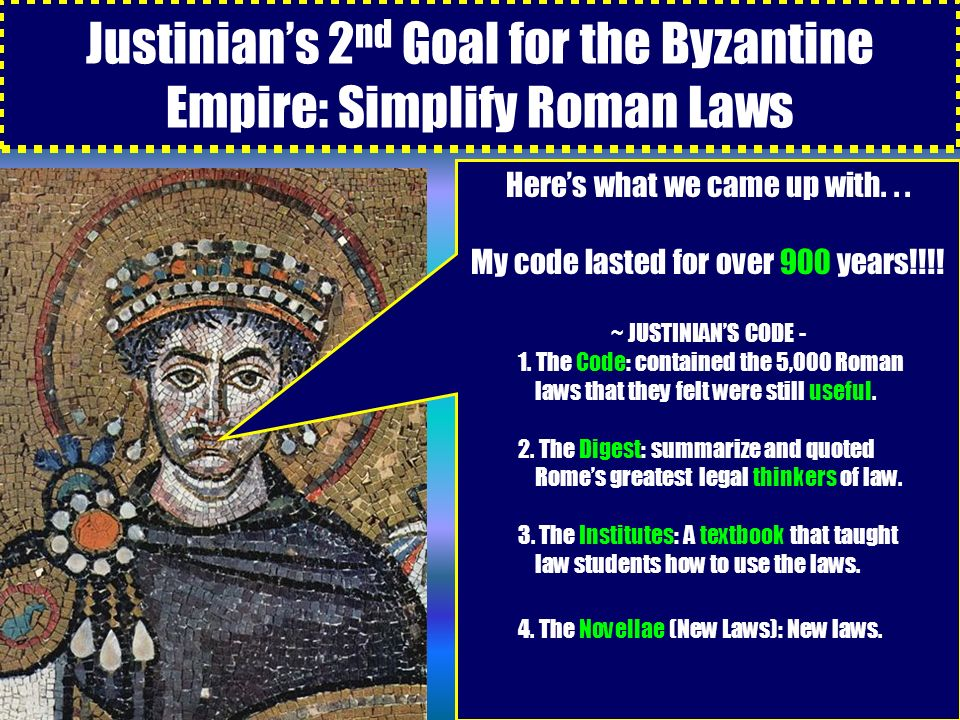 the visions and goals of the roman empire