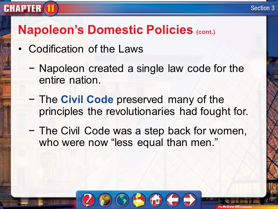 louis napoleon s domestic policy Get an answer for 'discuss napoleon's domestic policy' and find homework help for other history questions at enotes.