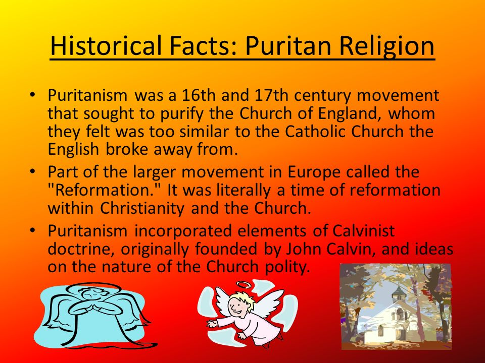 What puritan beliefs exist in todays society?
