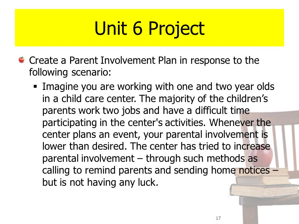 an introduction to the issue of parent involvement in education The issue of parental involvement (pi) in education is notable for the   introduction  parents' beliefs about various issues can act as barriers to  effective pi.