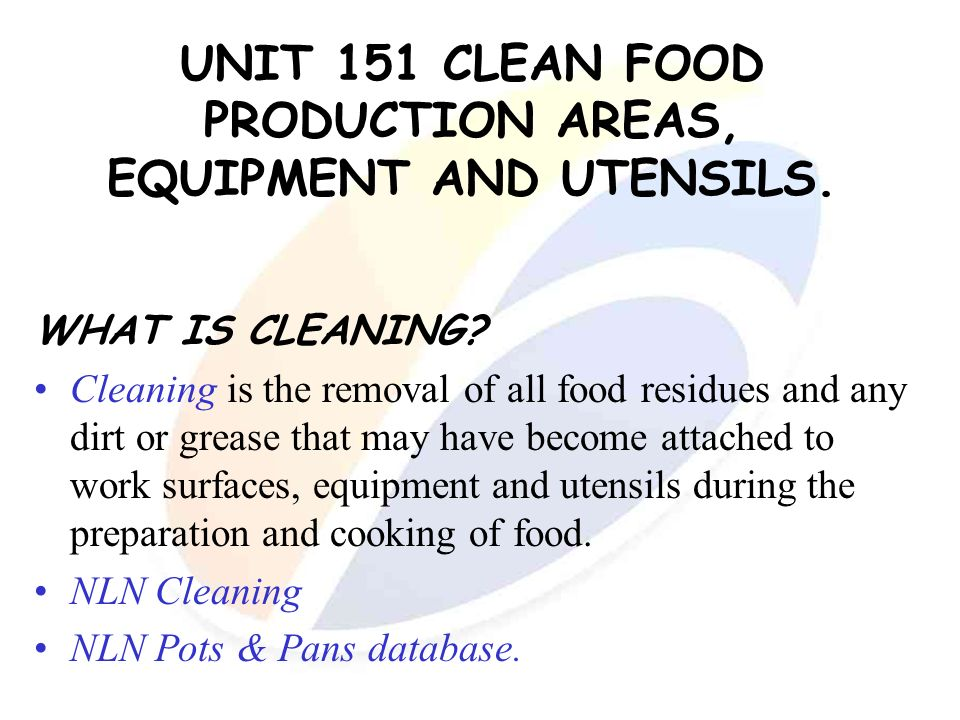 2 3 describe how to maintain hygiene and cleanliness of surfaces utensils and equipment The human body can provide places for disease-causing germs and parasites to grow and multiply these places include the skin and in and around the openings to the body it is less likely that germs and parasites will get inside the body if people have good personal hygiene habits fig 317.