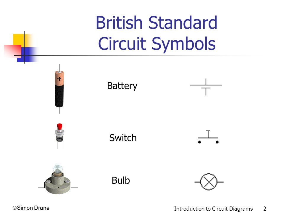 British Standard Circuit Symbols on electrical schematic symbols