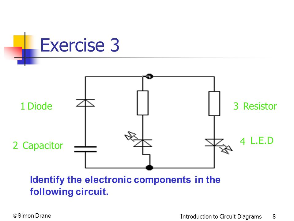 how to draw circuit diagrams for training