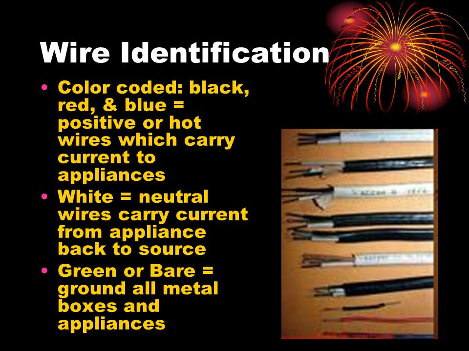 Electrical Wire Identification - ppt video online download