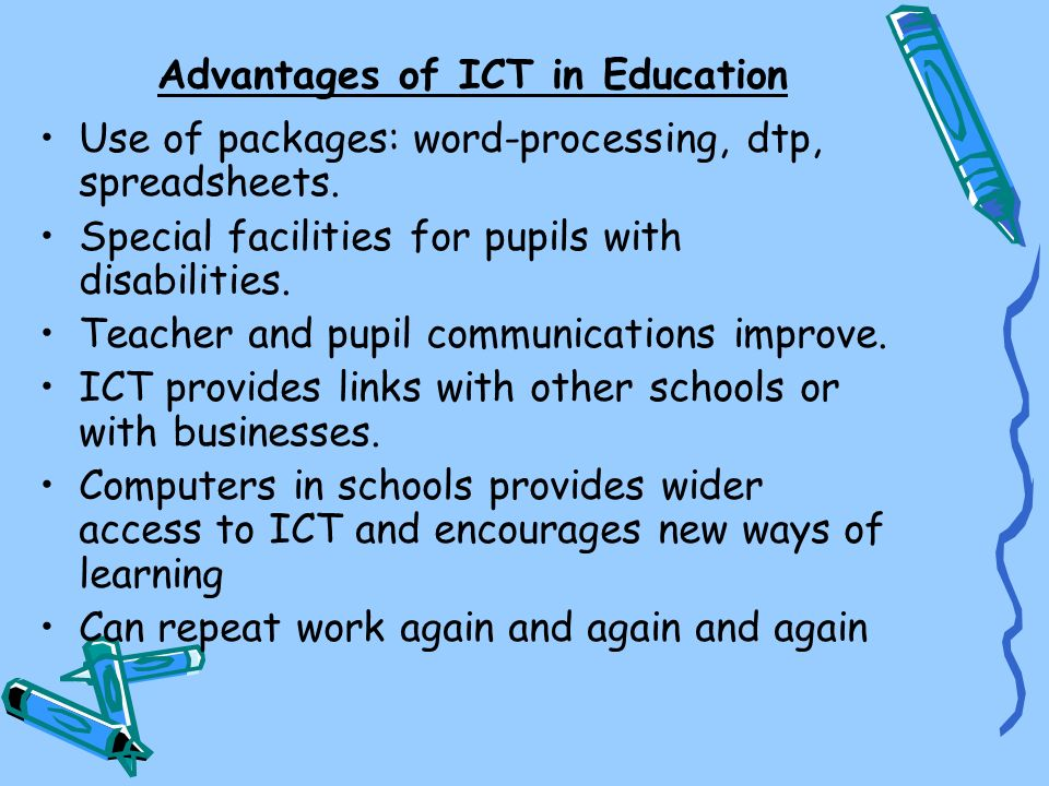 Advantages of ICT in Education