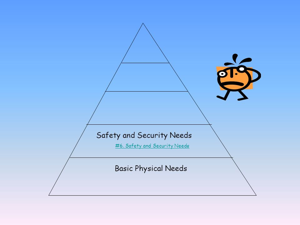 #6. Safety and Security Needs