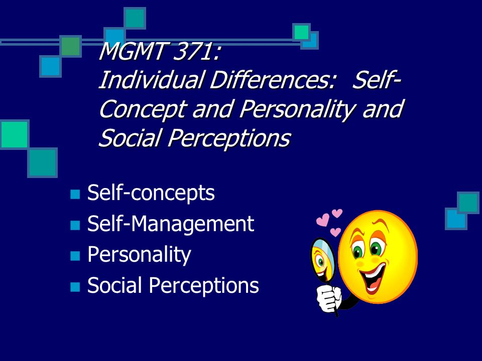 personality intelligence and perception Culture, personality, and perception  class, and intelligence, the findings don't show that people with similar personalities group together .