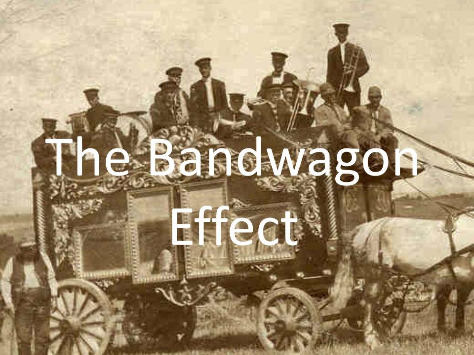 Image result for bandwagon effect
