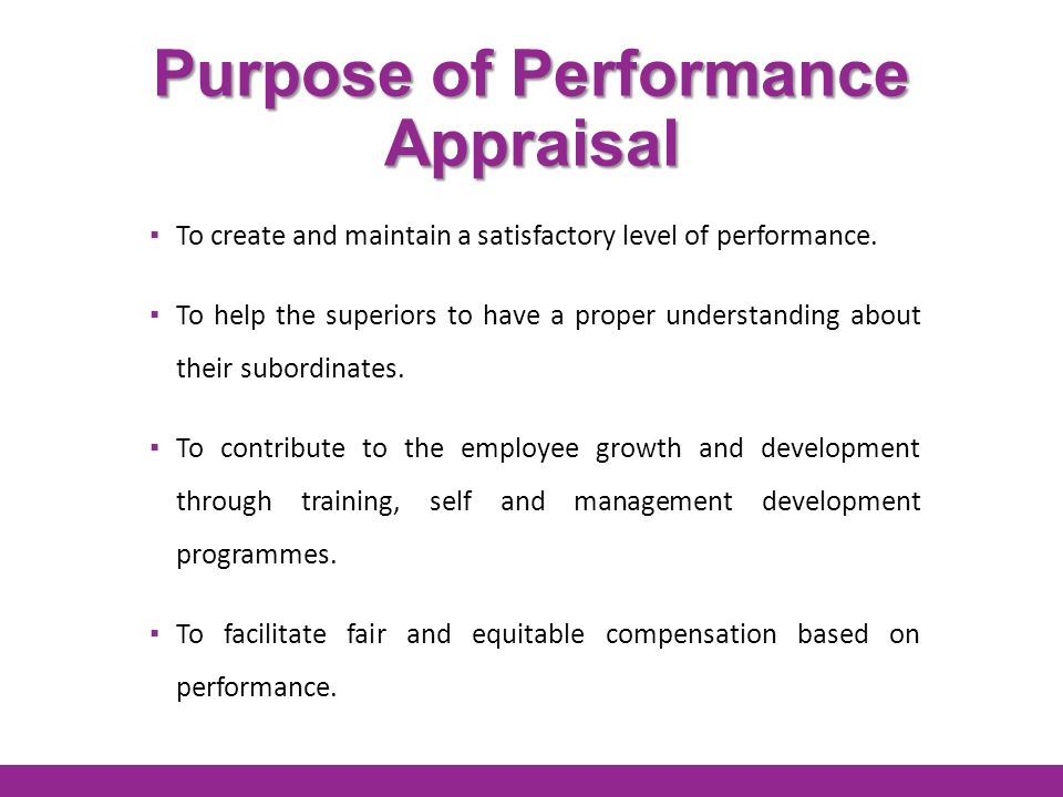 Purpose of Internal Training for Employees