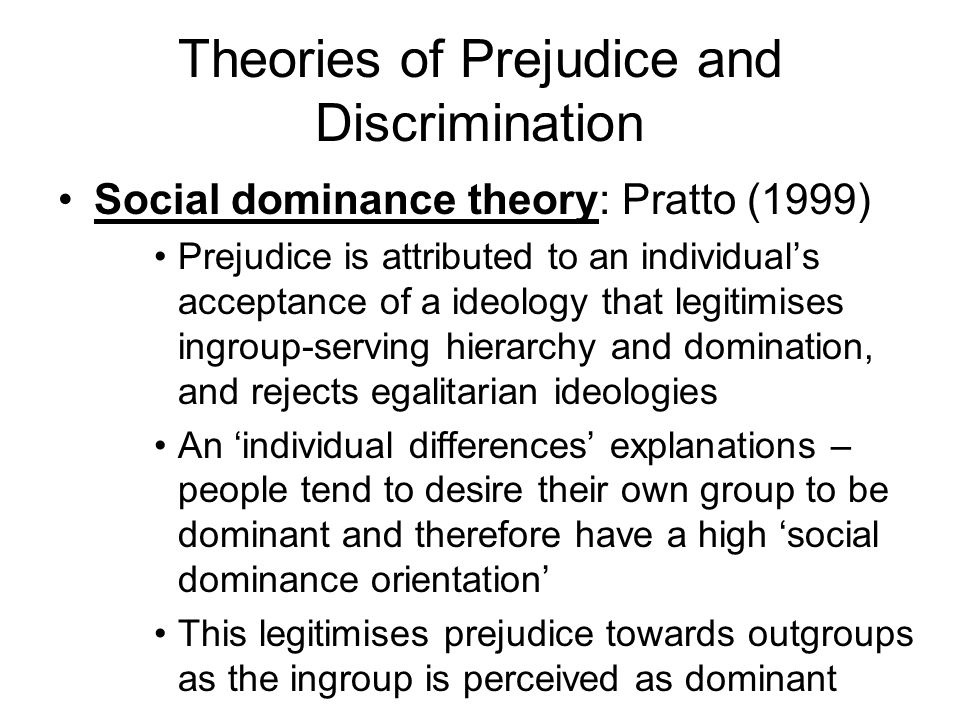 prejudice and discrimination india Get everything you need to know about racism and prejudice in indian horse  analysis, related quotes, theme tracking.