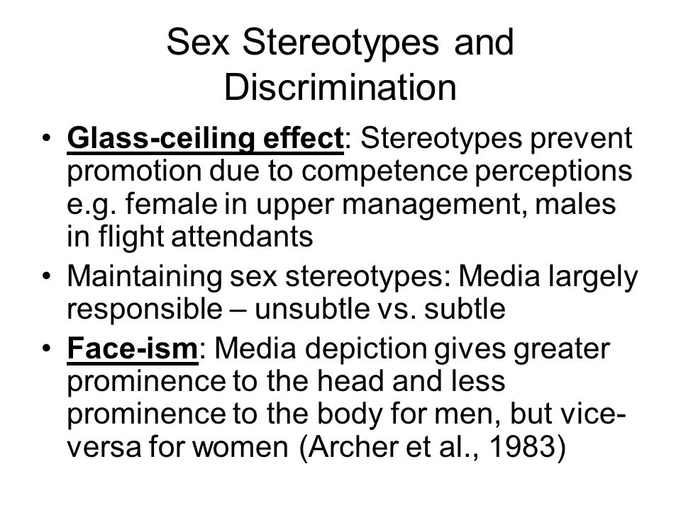 an essay on discrimination and the glass ceiling
