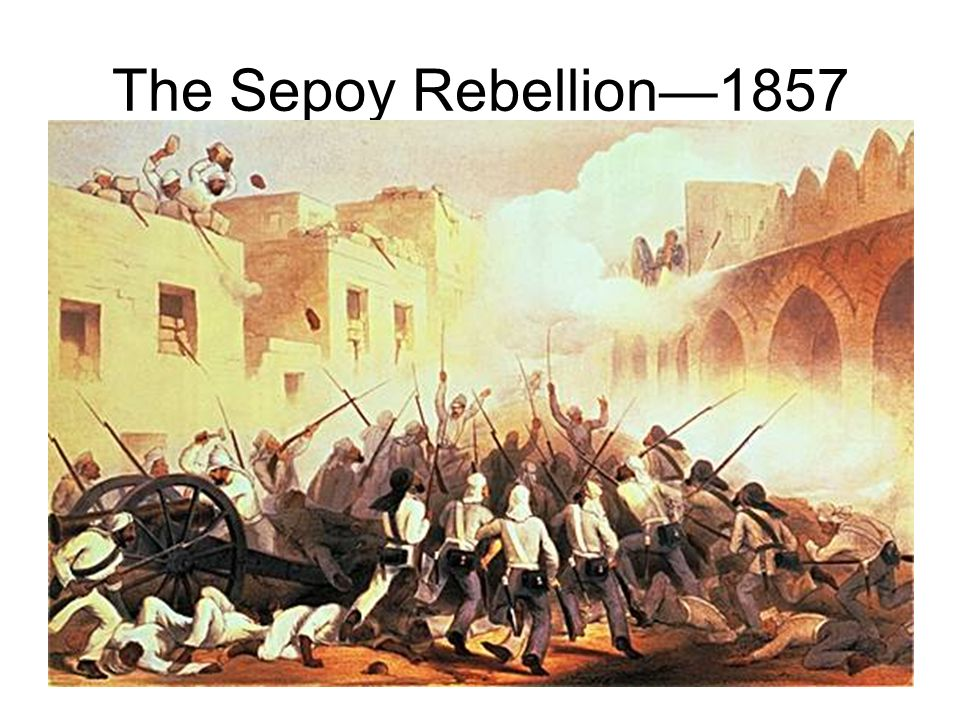 essay on sepoy rebellion The role of the indian sepoys was a central one as without their initial rising, other classes would not have been able to initiate such a high level of revol.