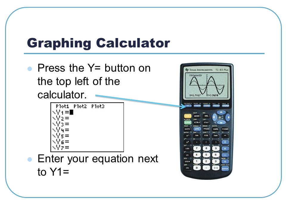 Graph And Table Calculator Ti 84 Plus Graphing