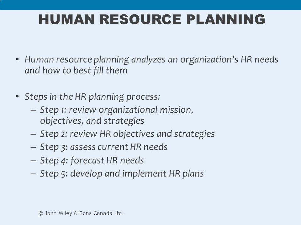 chapter human resource management ppt video online 9 human resource planning