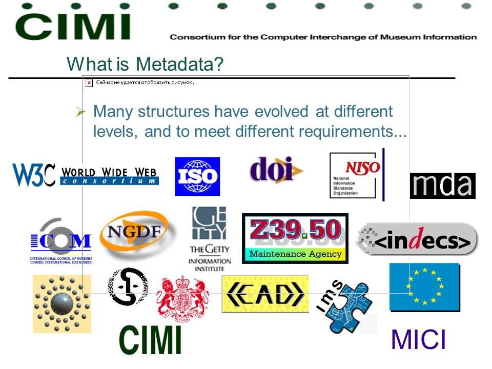What is Metadata Many structures have evolved at different levels, and to meet different requirements...