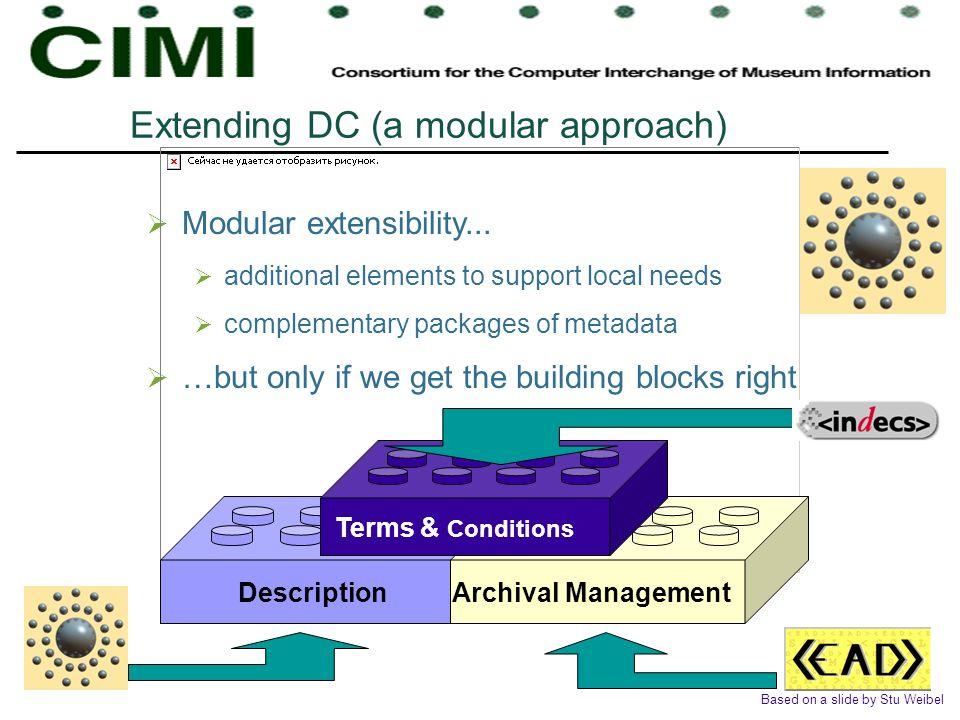 Extending DC (a modular approach)