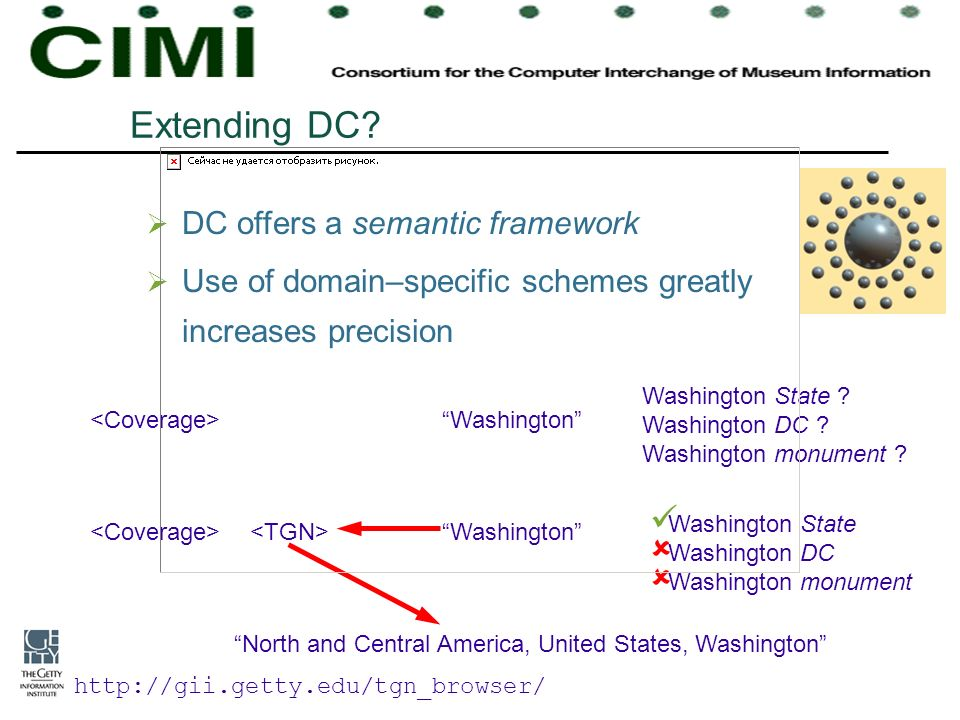 Extending DC DC offers a semantic framework