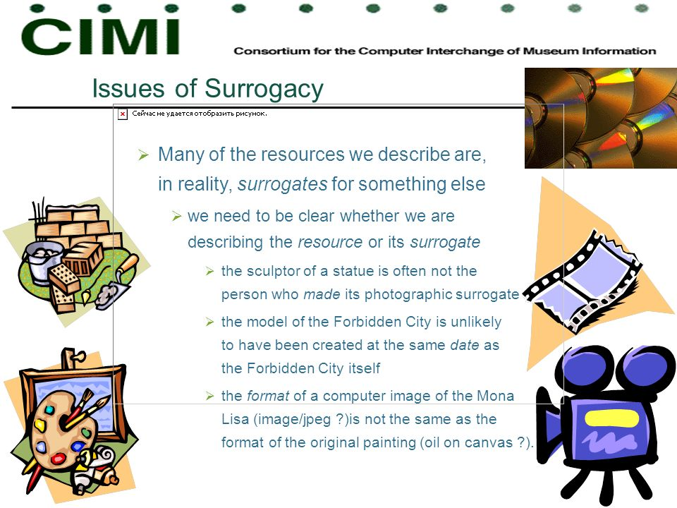 Issues of Surrogacy Many of the resources we describe are, in reality, surrogates for something else.