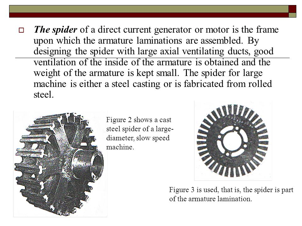 Topic 2 development and design of dc machines ppt video for Grayson armature small motor