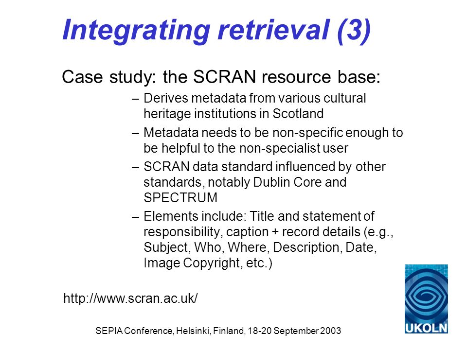 Integrating retrieval (3)