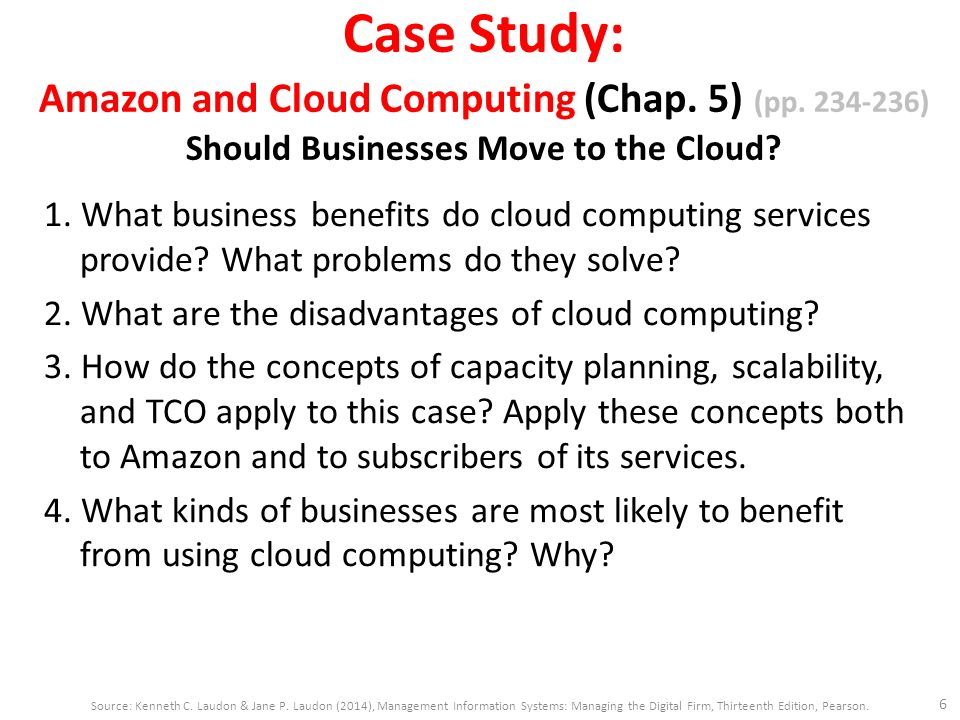 CLOUD COMPUTING WITH REAL LIFE CASE STUDIES AND A NEW ...