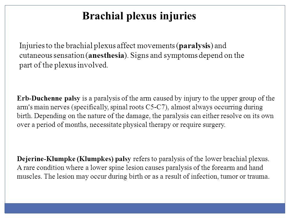 brachial plexus injury birth - photo #34