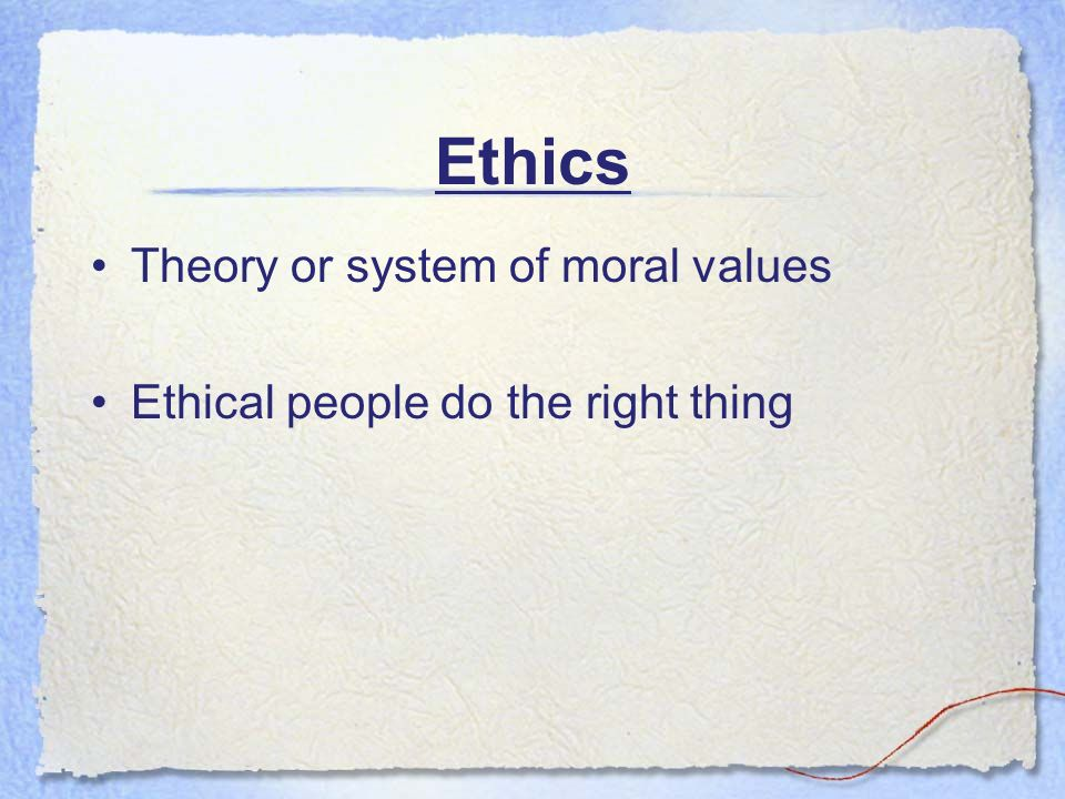 which theory of ethics do you What do you think motivates your team money or the challenge theory x and theory y explains how your perceptions can affect your management style.