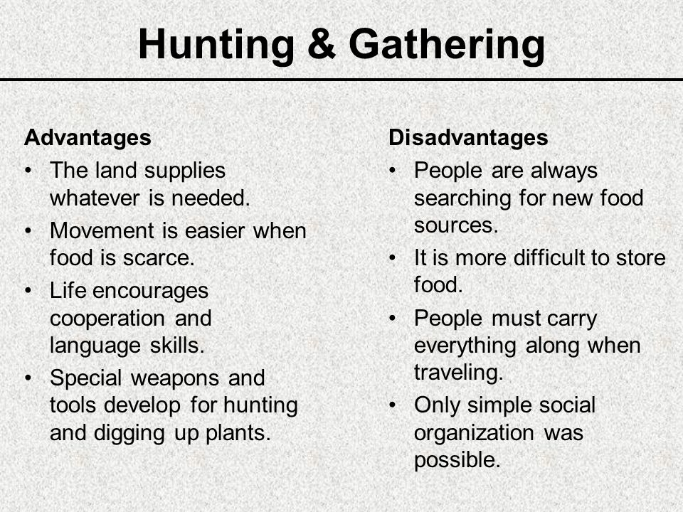 advantage and disadvantage in hunting Today's report is a guest blog about the advantages of airgun hunting by pyramyd air employee derek goins if you'd like to write a guest post for this blog, please email me now, over to you, derek like a carhartt-clad stone i sat motionless against a large oak tree, a rifle braced on my knees.